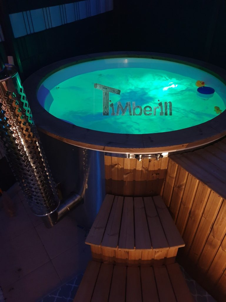 Royal Spa Hot Tub Fiberglas Model Med Integreret Varmelegeme