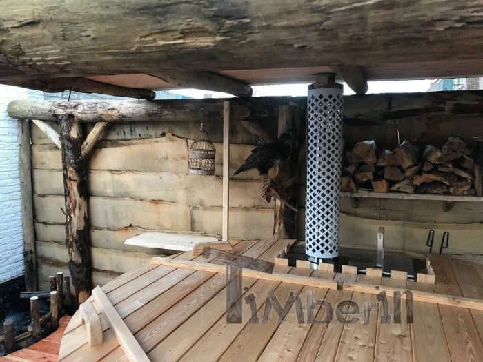 Hottub Glasvezel Met Interieur Kachel Wellness Basic, Dick, WH Castricum, Nederland (4)