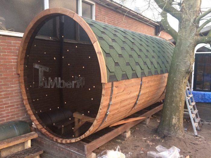 Outdoor – Buiten Houten Tuin Sauna Rond, Bart, Hoofdstraat, Nederland (1)